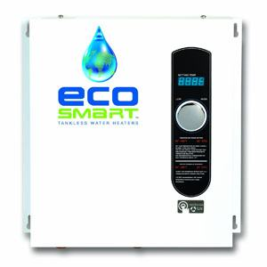 EcoSmart ECO-27, 27 KW at 240 Volts Electric Tankless Water Heater Review