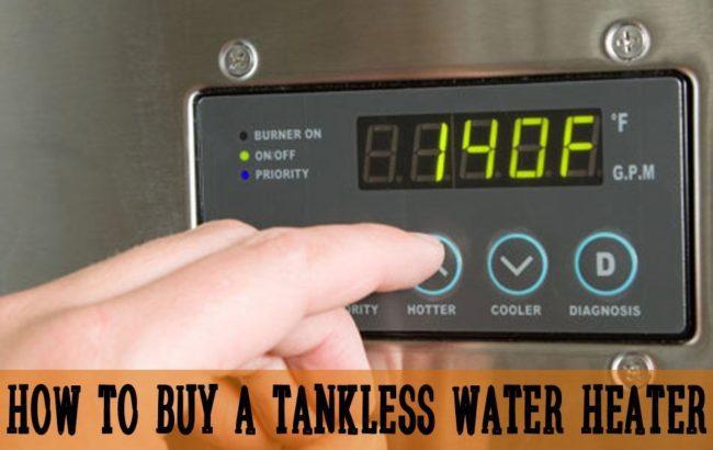 tankless water heaters buyerr's guide