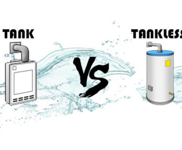 tankless vs tank water heaters