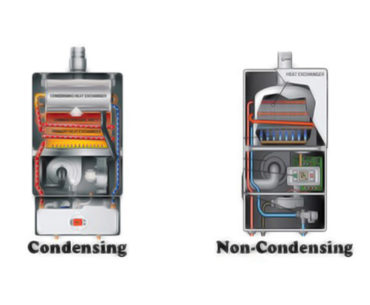 Condensing vs Non-Condensing Tankless Water Heater 1
