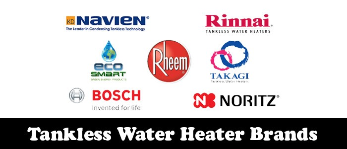 tankless water heater brands