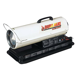 Dura Heat DFA50 50K BTU Kero Forced Air Heater Review