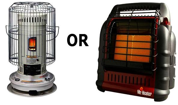 Kerosene vs. Propane Heater