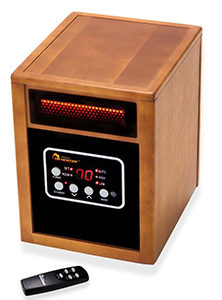 Dr Infrared Heater Portable Space Heater, 1500-Watt