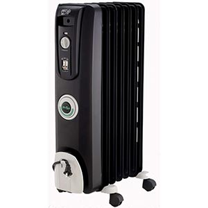 DeLonghi EW7707CB Safe Heat 1500W ComforTemp Portable Oil-Filled Radiator