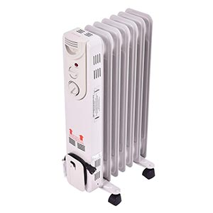 Tangkula Electric Oil Filled Radiator Heater Portable