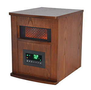 LifeSmart LS-1000X-6W-IN 6 Element Large Room Infrared Quartz Heater