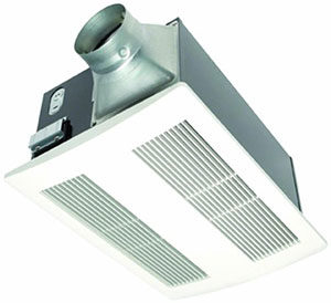 Panasonic FV-11VH2 WhisperWarm Ceiling Mounted Fan with Heater