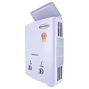 TANKLESS GAS WATER HEATER (LOW PRESSURE STARTUP) 1.6 GPM LPG VENT-FREE (PROPANE)