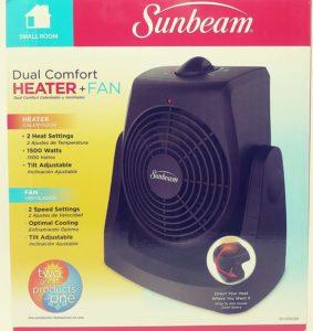 Sunbeam Fan Heater review