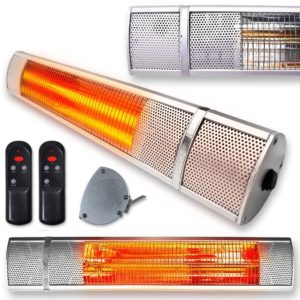 Futura Wall Mounted Electric Outdoor Garden heater