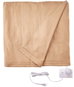 Biddeford Comfort Knit Heated Blanket