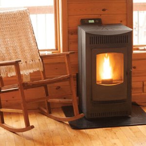Castle's 12327 Serenity Wood Pellet Stove